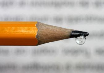 crayon goutte